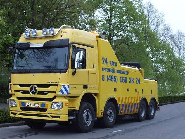 Эвакуатор Mercedes